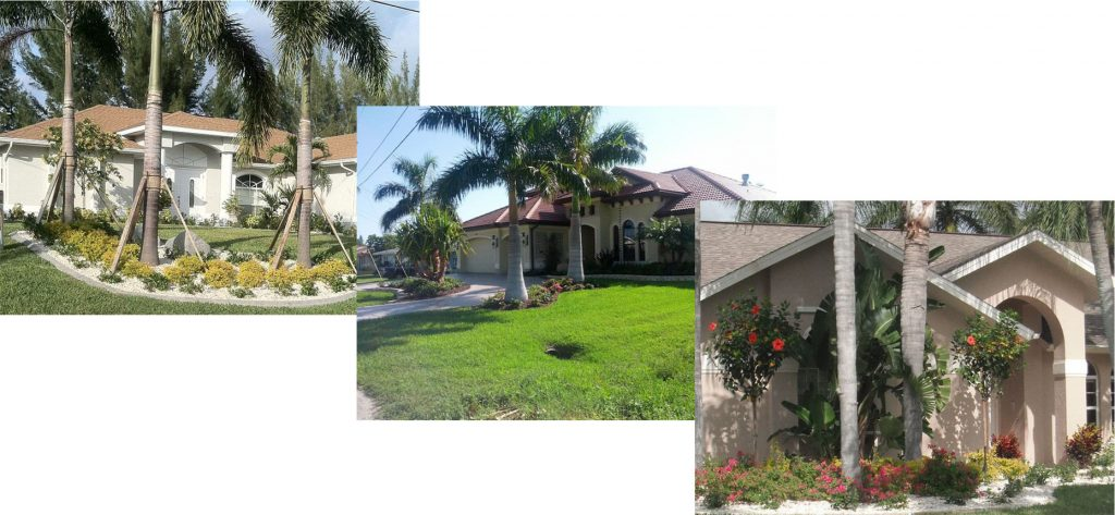 Curb Appeal Front Yard Landscaping In Southwest Florida