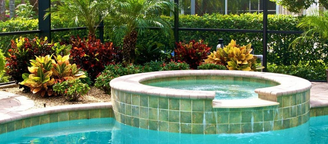 Pool Cage Landscaping Inside and Out