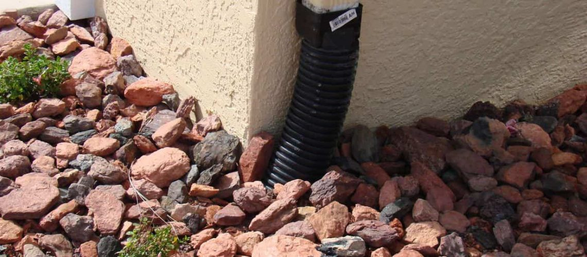 drainage away from house