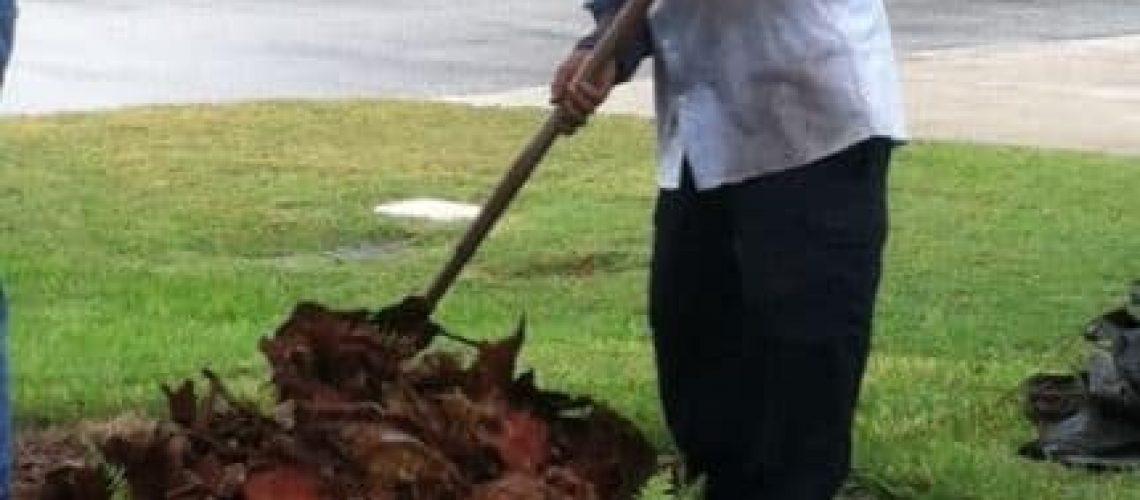 job site clean up