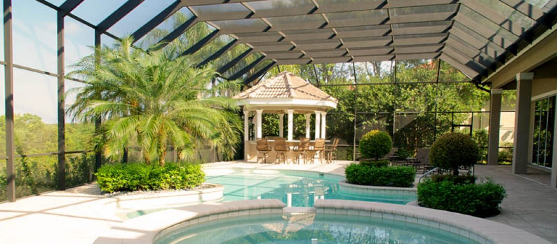 landscaping your pool
